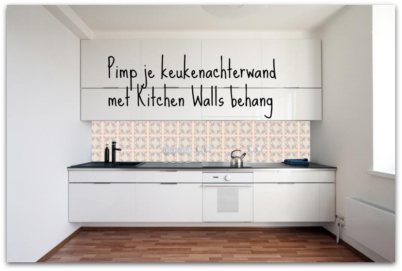 Kitchenwalls afwasbaar behang voor je keuken