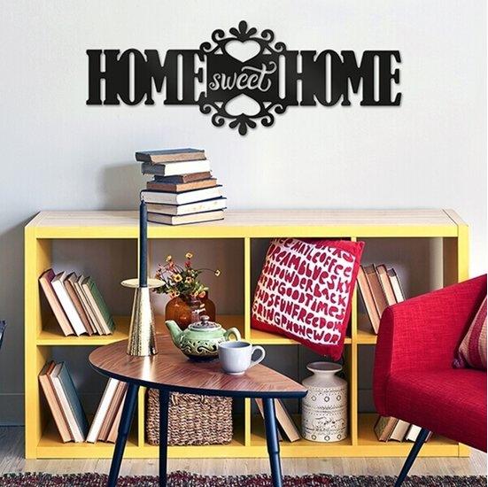 Muursticker Home Sweet Home.Muursticker Paneel Home Sweet Home Van Crearreda
