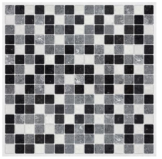 Zwart Wit Tegels.Tegel Wandsticker Crearreda Zwartwit Mozaiek