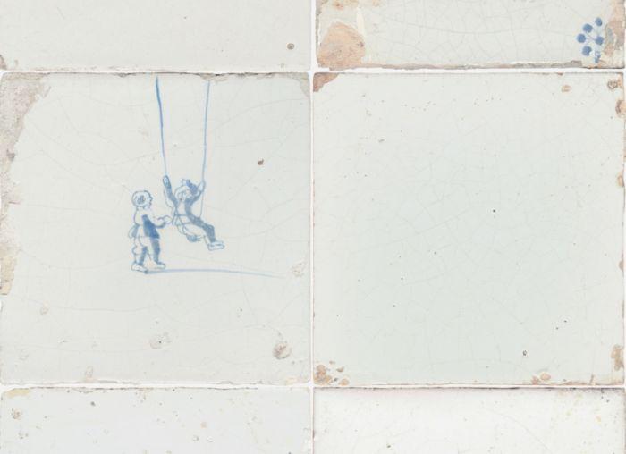 Oud Hollandse Tegeltjes : Tegeltjes behang studio ditte