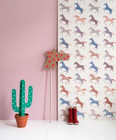 Beroemd Paarden behang van Studio Ditte #EU08