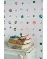 Knopen behang van Studio Ditte