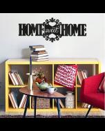 Muursticker paneel Home Sweet Home van Crearreda