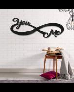 Muurpaneel You & Me van Crearreda