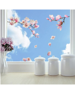 Raamstickers Magnolia van Crearreda