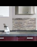 Keukenstickers Crearreda steenmotief XL