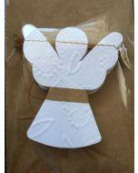 Engel slinger wit van Imbarro