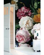 Fotobehang Golden Age Flowers III KEK Amsterdam -8 BANEN 389,6 x 280 cm