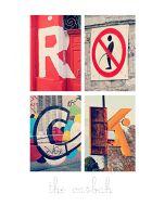 Alfagram poster ROCK the casbah