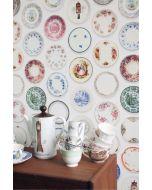 Porselein behang kleurrijk van Studio Ditte