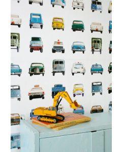 Autootjes behang van Studio Ditte