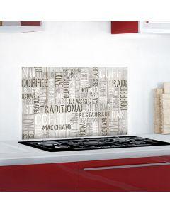 Keukenstickers Crearreda Koffie