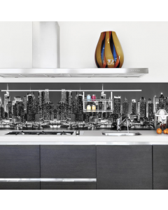 Keukenachterwand sticker New York Skyline XXL van Crearreda 180 x 45 cm