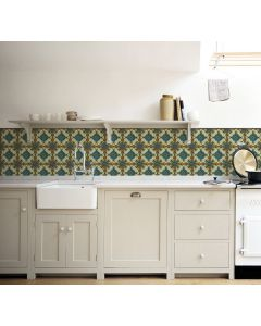 Kitchenwalls behang Majolica tegels