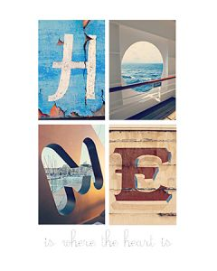 Alfagram poster HOME is where the heart is