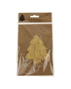 Kerstboom slinger goud van Imbarro