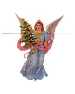 Kerst guirlande engel kerstboom