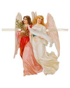 Kerst guirlande slinger engelen