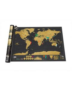 World Scratch Map deluxe editie
