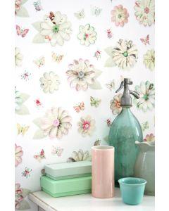 Bloemen behang van Studio Ditte