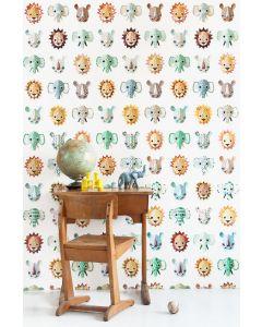 Wilde dieren behang cool Studio Ditte