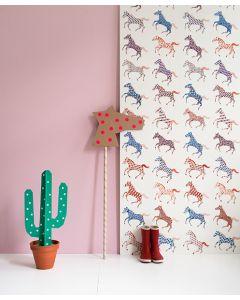 Paarden behang van Studio Ditte