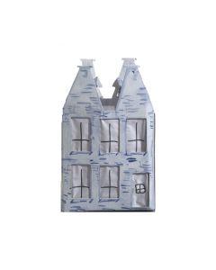 Papieren lantaarn Hollands Huisje