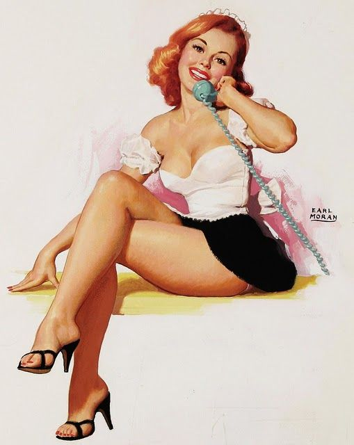 Pin up telephone